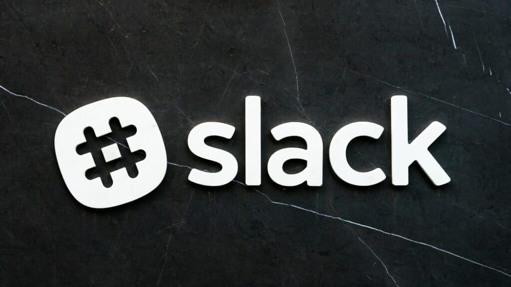 3D slack logo
