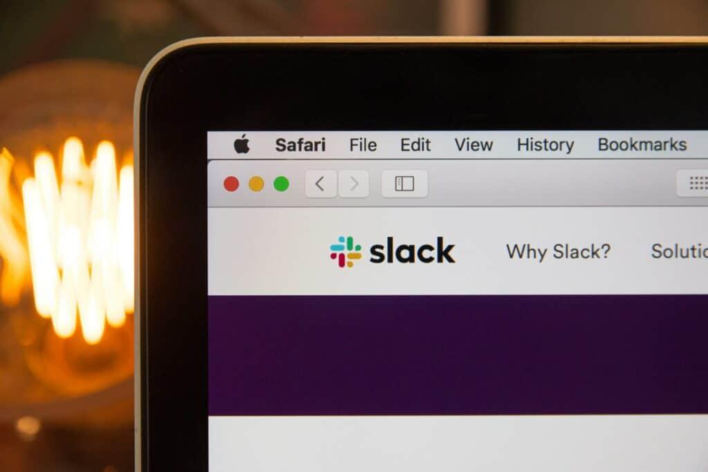 Slack open in browser