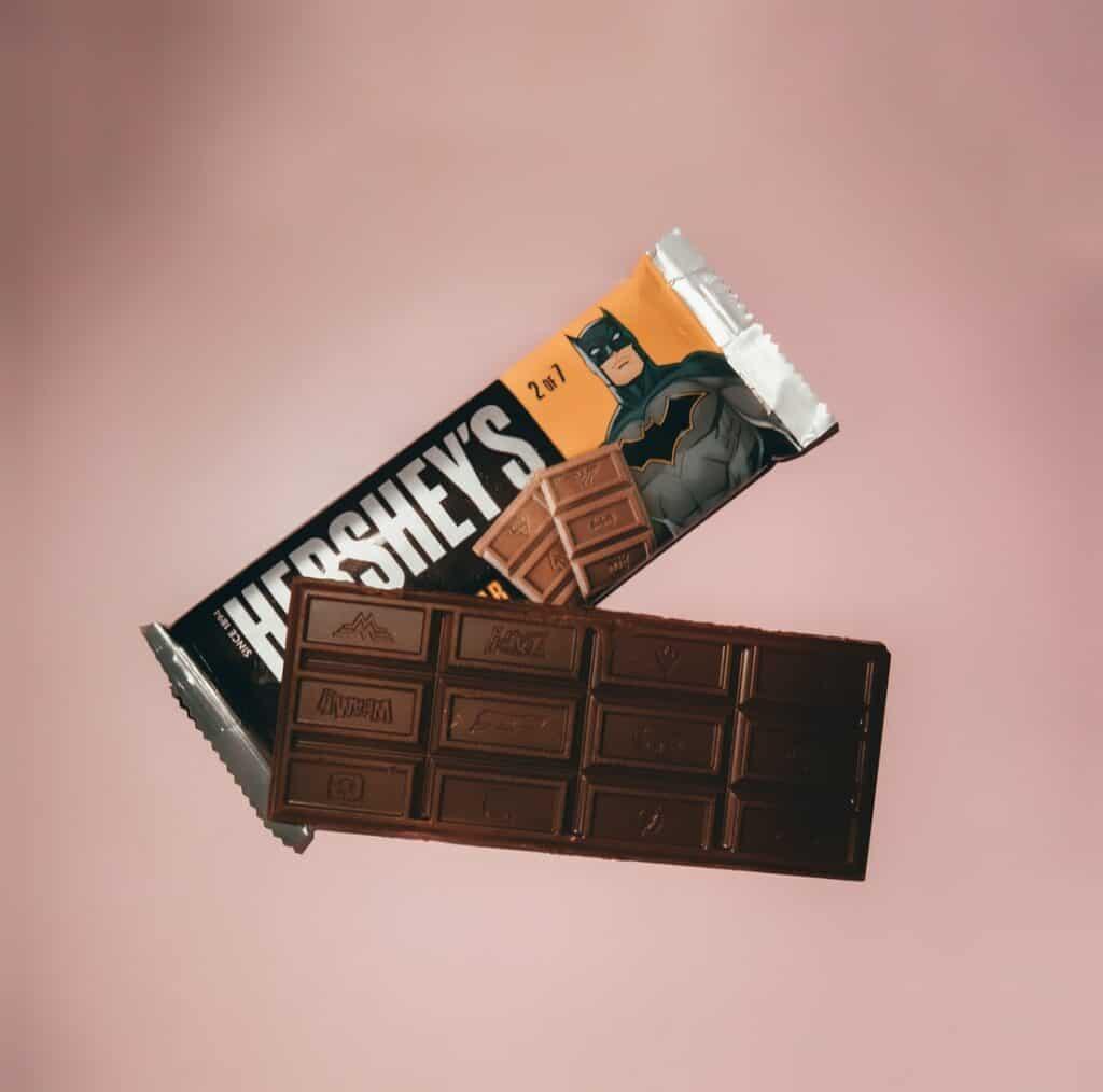 Hershey's chocolate bar.